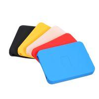 seagate sabit disk toptan satış-2.5 inç Silikon Kılıf HDD Çanta Case Sabit Disk Disk Kapak Koruyucu Cilt Ultra Yumuşak 2.5