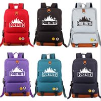 Wholesale night clothes men - The Fortress Night Backpack Fortnite Periphery Outdoor Travelling Bag For Man And Women Fashion Schoolbag High Quality 50sw WW