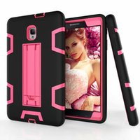 Wholesale galaxy tab military case for sale - Kickstand Defender Case For Samsung Galaxy Tab T377 P580 S3 T820 T825 T380 Shockproof Robot Military Extreme Heavy Duty Stand Cover Skin