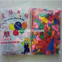 ingrosso palloncini di mele-Hot 500 pezzi / lotto Palloncini n. 3 palloni rotondi palloncino in lattice 100% Palloncini natalizi in the air boccioli giocattolo