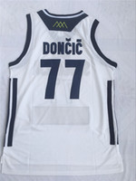 26677089b1bf Mens Doncic Jersey Cheap Throwback Basketball Jersey Doncic slovenija Team Retro  Stitched Shirts BASKET Sports JERSEYS