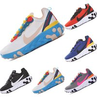 Wholesale running net sport for sale - Group buy With Box Undercover React Element Net Yarn Kids Running Shoes Undercover x React Element Epic React Kids Sports Shoes