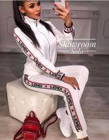 zweiteilige strickjacke großhandel-Bumpybeast Sporting Suit Frauen Hoodie Reißverschluss Strickjacke Hosen Anzüge Designer Trainingsanzug Zweiteilige Setwo Kleidung Sets