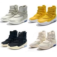 calcetines de baloncesto al por mayor-El envío libre, regalo de Navidad, 1s dios deportes de los hombres de baloncesto pega los zapatos de diseño de lujo FOG zapatos para correr