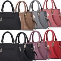 76345c45bd2a7 Fashion Designer Women Handbag Female PU Leather Bags Handbags Ladies  Portable Shoulder Bag Office Ladies Shopping Bag Totes Purses