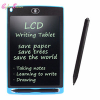 "tablette groihandel-LCD Writing Drawing mit Stylus Tablet 8,5 ""Elektronisches Schreibtablett Digital Drawing Board Pad für Kids Office Kleinpaket"