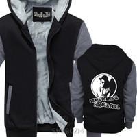 секси пальто оптовых-IAN DURY SEX ROCK ROLL НЕОФИЦИАЛЬНЫЕ BLOCKHEADS ВЗРОСЛЫЕ толстовка с капюшоном зимняя толстая куртка мужское теплое пальто sbz4134