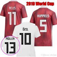 uniforme de alemania al por mayor-2019 mujeres camisetas de la copa del mundo 2020 alemania casa fútbol Jersey Alemania distancia hembra hermoso POPP Däbritz RALL MULLER camiseta de fútbol uniformes