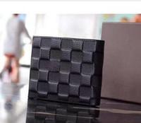 mann große brieftasche großhandel-2019 heiße klassische große Designer Männer und Frauen lange Brieftasche große Kapazität hochwertige PU Gürtel Box Logo geprägt