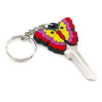 ingrosso gomma statunitense-SPEDIZIONE GRATUITA 100 pezzi colore gomma 3d farfalla casa spazi vuoti in KW10 per serrature Kwikset popolare negli Stati Uniti