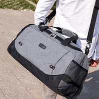 обвязка багажного мешка оптовых-2019 New Style Fashion Hot Patchwork Zipper Duffel Bag Bags Carry-on Travel Sports Luggage Shoulder Strap Gym