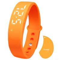 relógio w5 venda por atacado-Relógio esperto do bracelete da temperatura do monitor do sono do podómetro W5