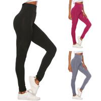 Wholesale fiber calf resale online - 3 Colors Women s Sports Leggings Summer Tight Skiiny Bodycon Pants Milk Fiber Quick Dry Jogging Trousers Tracksuit Bottom Designer NEW C415