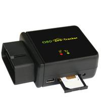 araba alarmı için gps gsm toptan satış-Arabalar için GPS / araç GPS GSM GPRS Takip OBD II Araç Tracker Goole SMS Gerçek Zamanlı Izleme