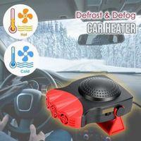 Wholesale v6 cars resale online - Defrost Defog Mini Car Heater Electric Fan Windshield Windows Glass Heated Device V6