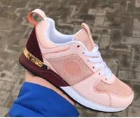 zapatos casuales de los mocasines de los hombres al por mayor-Nuevos 2019 Zapatos de diseño Hombres Mujeres Low Cut Casual Run Away Shoes Francia Marca Hombres Mujeres Zapatillas de deporte Mocasines 36-45