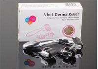 Wholesale dermaroller for face resale online - 10pcs DHL in Kit Derma Roller for Body and Face and eye Micro Needle Roller Needles Skin DermaRoller