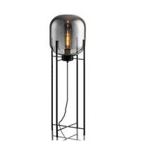 stativboden groihandel-Nordic postmodern Stehlampe rauchgrau Glas vier Lampen Schlafzimmer Stativ Wohnzimmer Studie Dekoration Lampen E27 Nachttischlampe