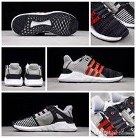 zapatos para correr talla 17 al por mayor-2019 Recién llegado de alta calidad Overkill x Consortium EQT Support Future 93 17 BY2913 Hombres Mujeres Zapatos para correr Tamaño 5.5-11