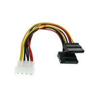 Wholesale sata ide adapter for sale - Group buy 2pcs SATA Power Cable Splitter Pin To Serial Pin Y Splitter Hard Drive IDE Power Cables Cable Adapter