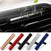 Wholesale auto freshener resale online - Car Air Freshener Smell in the Car Styling Air Vent Perfume Parfum Flavoring for Auto Interior Accessorie Air Freshener for Girl X0401