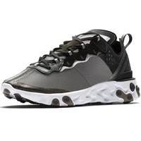 sapatos de corrida para homem 87 venda por atacado-SECRETO x Próximos Reagir Elemento 87 cartões Branco Sapatilhas Marca Homens Mulheres instrutor Homens Mulheres Designer Running Shoes Zapatos 2018 Novo