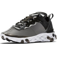 designer-laufschuhmarken groihandel-UNDERCOVER x nächstes React Element 87 Stück weißen Turnschuhe Marke Männer Frauen Trainer Männer Frauen Designer-Schuhe Laufende Schuhe 2018 Neues