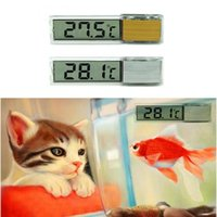 Wholesale free room thermometer for sale - Group buy New Multi Functional LCD D Digital Electronic Temperature Measurement Fish Tank Temp Meter Aquarium Thermometer