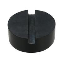 disk prizi toptan satış-2 Adet Siyah DIY Araba SUV Yarıklı Çerçeve Raylı Hidrolik Zemin Jack Disk Lastik Pedi