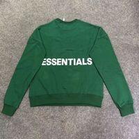 Wholesale god cloth resale online - Kanye West Cotton Paris Fashion Loose Style Hoodie Men Cloth Winter FOG Fear Of God Essentials Crew Neck Sweatshirt