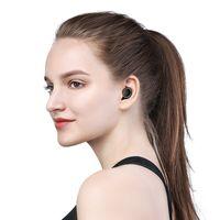 беспроводные наушники с невидимым ухом оптовых-JOYROOM T05 Беспроводная Связь Bluetooth Наушники Бинауральные Спортивные Бег Водонепроницаемый-In-Ear Вождения Мини-Невидимый Мобильный Телефон С Зарядкой Box