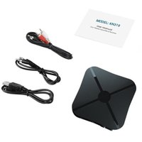 Wholesale launch adapter for sale - Group buy iMars KN319 bluetooth Wireless Audio Transmitter Receiver Adapter TV Launch Music Receiver