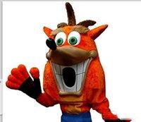 traje de raposa de alta qualidade venda por atacado-2019 Personalizado de Alta qualidade recém-desenvolvido fox mascot costume Adulto Tamanho frete grátis