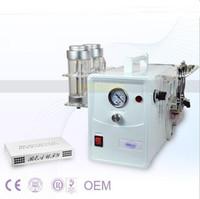 ingrosso microdermoabrasione macchine cristalli-2 in 1 diamante microdermoabrasione cristallo microdermoabrasione collagene viso stimolazione viso stringendo cura del viso spa salon macchina