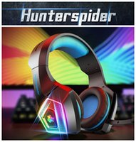 Luminous colourful V1 Gaming Headset Over ear headphones wired control with Mic LED Light Casque Gamer Headset for PC PS4 Xbox One gamer