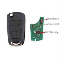 Wholesale opel vectra key for sale - Group buy Buttons HU100 Blade Remote Key MHz PCF7946 for Vauxhall Opel Vectra C Signum Car Key