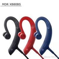 наушники для наушников mdr оптовых-2019 Спорт Bluetooth наушники Япония SY мини беспроводной стерео Ушной крючок наушники Handfree MDR-XB80BS MDRXB80BS высокое качество