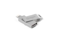Wholesale ipad otg cable online – 128GB real capacity metal iPhone otg usb flash drive U Disk Mobile Storage flash disk for iPhone iPad