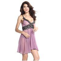 dcfe11779e Sheer S-6XL Plus Size Sexy Lingerie Embroidery Nightdress Women Sexy  Underwear Top Bra Sexy Babydoll