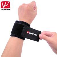 bracelet réglable couleur achat en gros de-CAMEWIN 1 PCS Support de Poignet Réglable Brace Wristband Poignets de Protection Sportive Noire pour Hommes et Femmes
