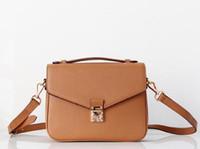 çanta el çantaları toptan satış-2019 Ücretsiz nakliye yüksek kaliteli kadın Messenger çanta deri kadın çanta poşet Metis omuz çantaları çanta M40780 crossbody