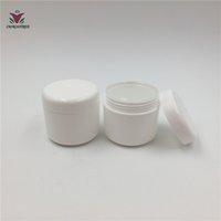 tarros de plástico amarillo al por mayor-20pcs 30ml 30g PP blanco verde rosado amarillo Botellas recargables Plástico Vacío Maquillaje Jar Pot