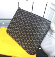 mann frau marke geldbörse großhandel-2019 Frankreich Paris Stil berühmte Top-Marke Männer Frauen klassische Handtaschen Mode große und mittlere Größe gy Kupplung Geldbörse Handtasche