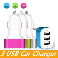 Wholesale battery charger iphone 5s online – Car Charger port Rapid USB Car battery Chargers Cigarette Charger Adapter for Apple Iphone s s s c Ipad Air Ipad Mini