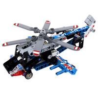 velho avião brinquedo venda por atacado-Bloquear brinquedos educativos de plástico para segurar pequenas partículas bloco 7 a 14 anos de idade crianças brinquedo avião