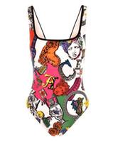 ingrosso o bikini-2019 I più nuovi Italia Marchio di moda Swimwear Bikini per le donne Sexy oro floreale Costume da bagno fasciatura costumi da bagno sexy Costumi interi VSC03