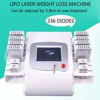 machine à pagaie achat en gros de-Lipo machine lipo laser amincissant la forme du corps lipolaser 650nm 980nm diode laser amincissant la machine 12 pagaies