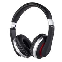 usb kulaklık mikrofon kulaklık toptan satış-IPad Cep Telefonu İçin Mikrofon Destek TF Card ile Kablosuz Kulaklık Bluetooth Kulaklık Katlanabilir Stereo Gaming Kulaklık