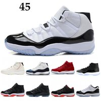 Wholesale Concord Platinum Tint Mens Casual Shoes XI s Cap and Gown Designer Shoes Space Jam Heiress Gym Red Chicago Shoes