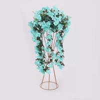 ingrosso pot di fiore classico-Colonne decorative per matrimoni Event Party Pilastro Decorazione classica Flower Stand Vaso Floral Plant Pot Centrotavola Decorazioni per eventi per feste